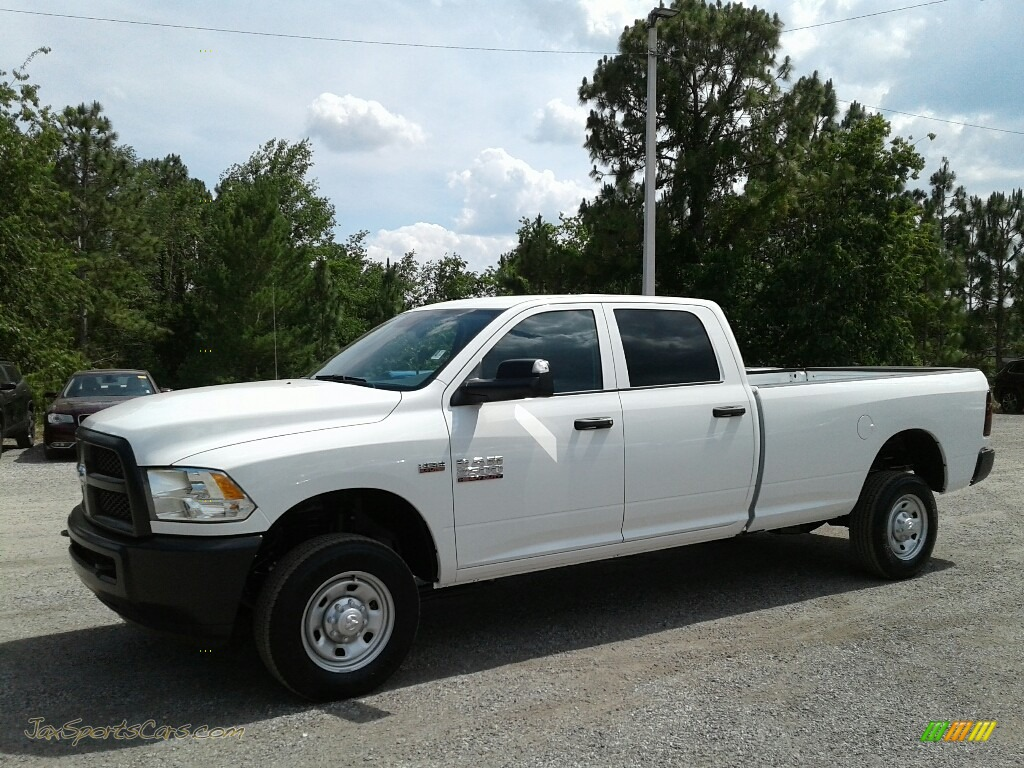 Bright White / Black/Diesel Gray Ram 2500 Tradesman Crew Cab 4x4
