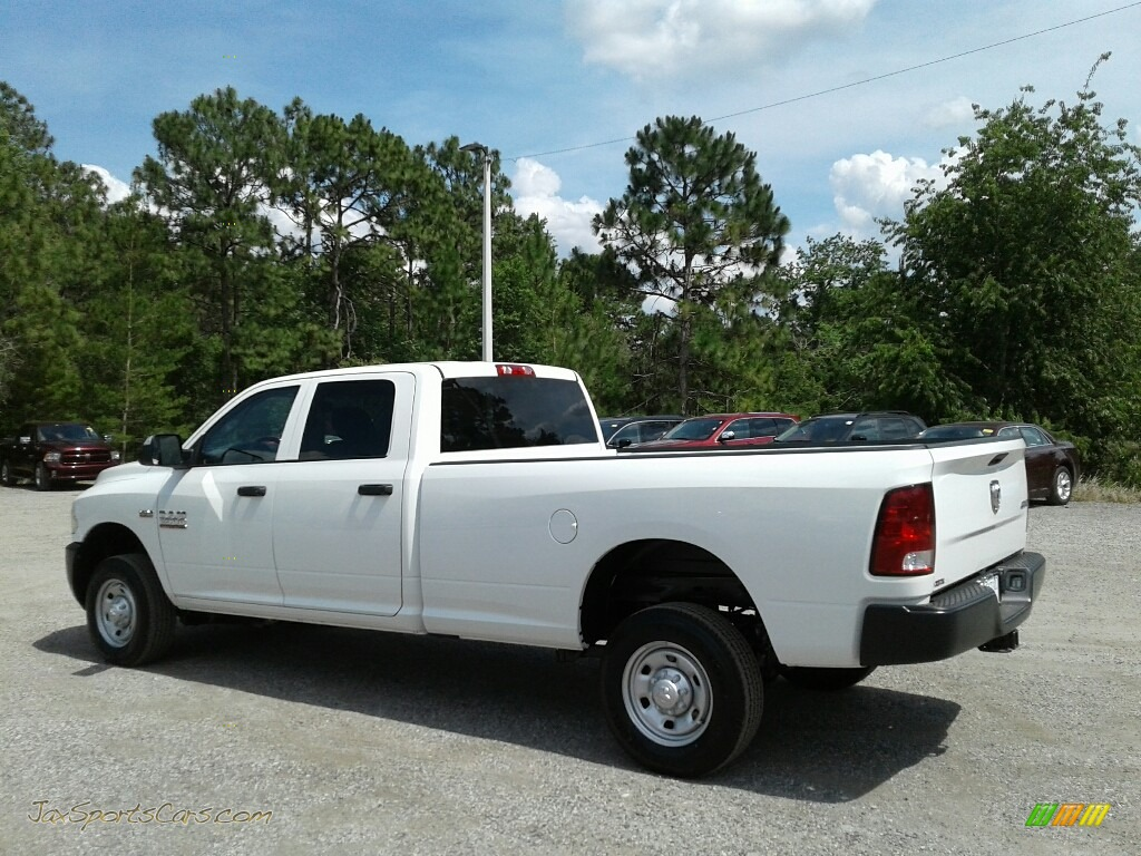 2018 2500 Tradesman Crew Cab 4x4 - Bright White / Black/Diesel Gray photo #3