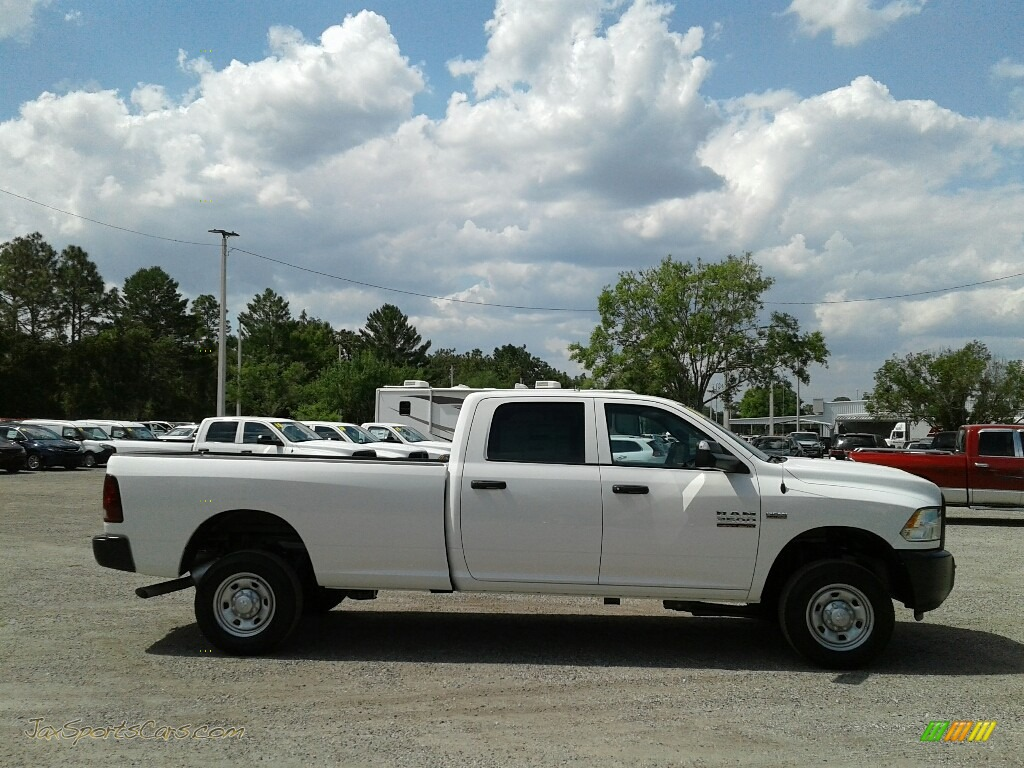 2018 2500 Tradesman Crew Cab 4x4 - Bright White / Black/Diesel Gray photo #6