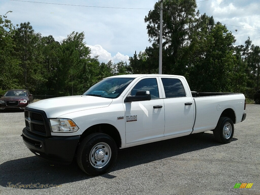 Bright White / Black/Diesel Gray Ram 2500 Tradesman Crew Cab