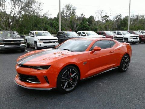 Crush (Orange) 2018 Chevrolet Camaro LT Coupe Hot Wheels Package