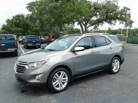 Satin Steel Metallic 2018 Chevrolet Equinox Premier