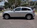 Infiniti FX 35 AWD Liquid Platinum Metallic photo #3