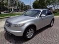 Infiniti FX 35 AWD Liquid Platinum Metallic photo #54