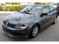Volkswagen Jetta S Platinum Grey Metallic photo #4