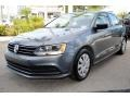 Volkswagen Jetta S Platinum Grey Metallic photo #5