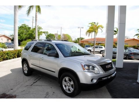 Quicksilver Metallic 2010 GMC Acadia SL