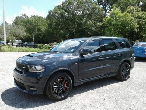 Bruiser Gray 2018 Dodge Durango SRT AWD