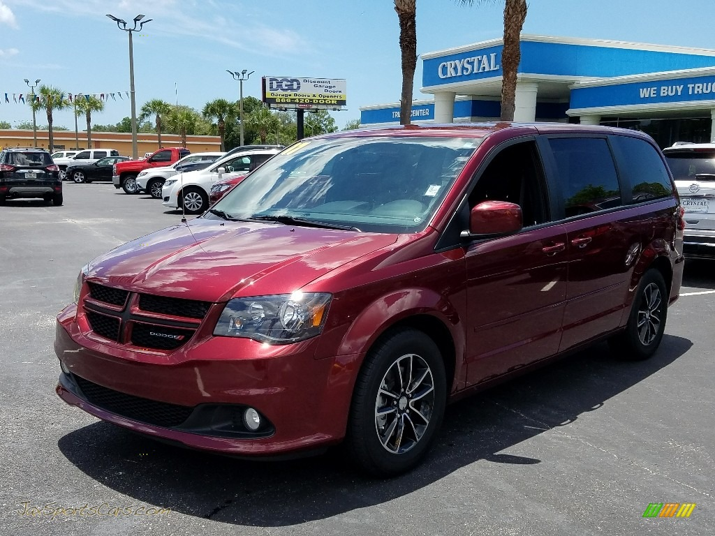 Octane Red / Black Dodge Grand Caravan GT