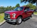 Ford F150 XLT SuperCab Ruby Red photo #1