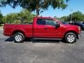 Ford F150 XLT SuperCab Ruby Red photo #6