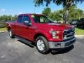 Ford F150 XLT SuperCab Ruby Red photo #7