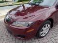 Mazda MAZDA6 i Sedan Dark Cherry Metallic photo #27