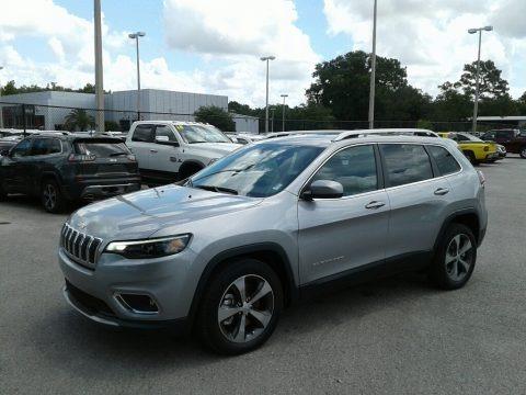 Billet Silver Metallic 2019 Jeep Cherokee Limited