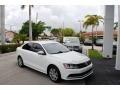 Volkswagen Jetta S Pure White photo #1