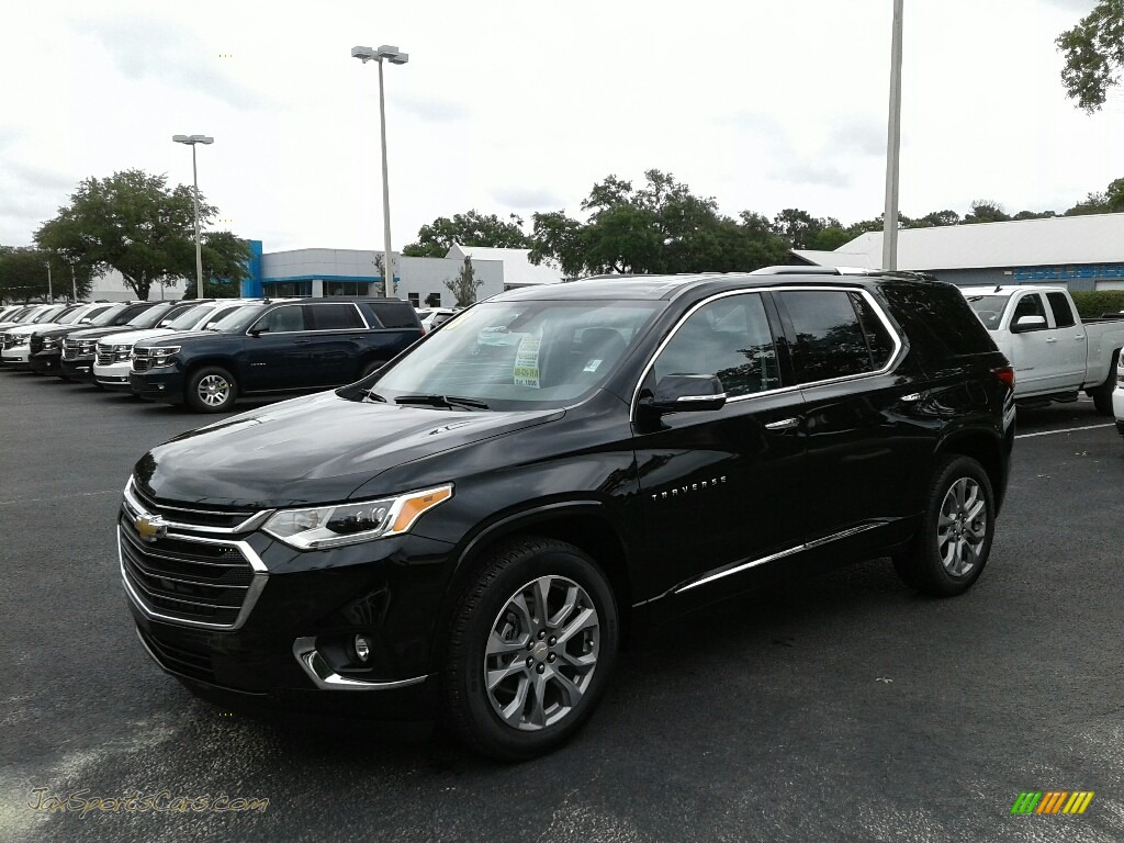 2018 Traverse Premier - Mosaic Black Metallic / Dark Atmosphere/Medium Ash Gray photo #1