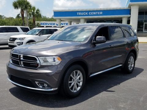 Granite Metallic 2017 Dodge Durango SXT
