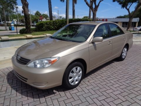Desert Sand Mica 2003 Toyota Camry LE