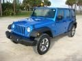 Jeep Wrangler Unlimited Sport 4x4 Hydro Blue Pearl photo #3