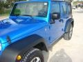 Jeep Wrangler Unlimited Sport 4x4 Hydro Blue Pearl photo #10