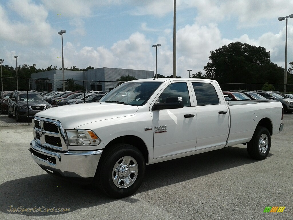 2018 3500 Big Horn Crew Cab - Bright White / Black/Diesel Gray photo #1