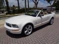 Ford Mustang V6 Premium Convertible Performance White photo #5