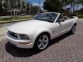Ford Mustang V6 Premium Convertible Performance White photo #30