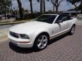 Ford Mustang V6 Premium Convertible Performance White photo #34