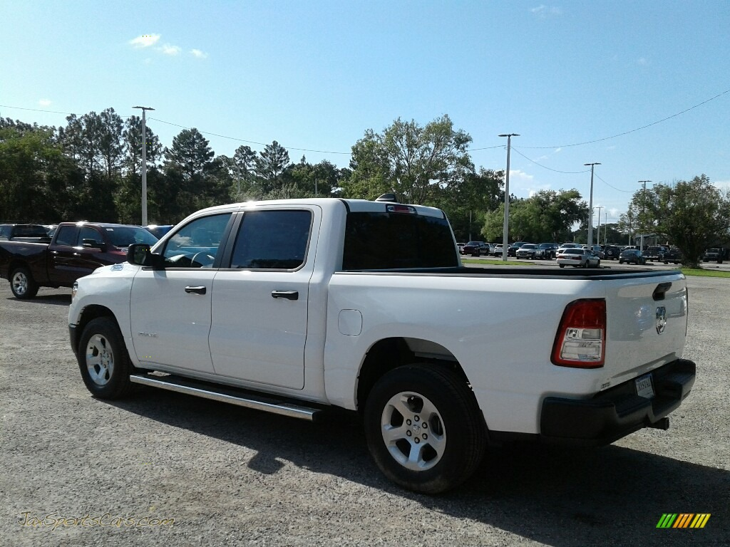 2019 1500 Tradesman Crew Cab - Bright White / Black photo #3