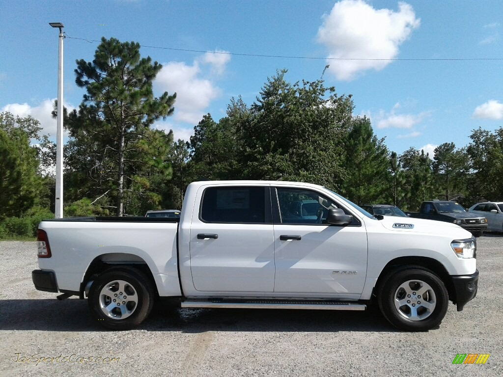 2019 1500 Tradesman Crew Cab - Bright White / Black photo #6