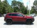Jeep Cherokee Trailhawk 4x4 Velvet Red Pearl photo #6
