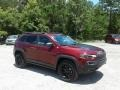 Jeep Cherokee Trailhawk 4x4 Velvet Red Pearl photo #7