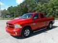 Ram 1500 Express Quad Cab Flame Red photo #1