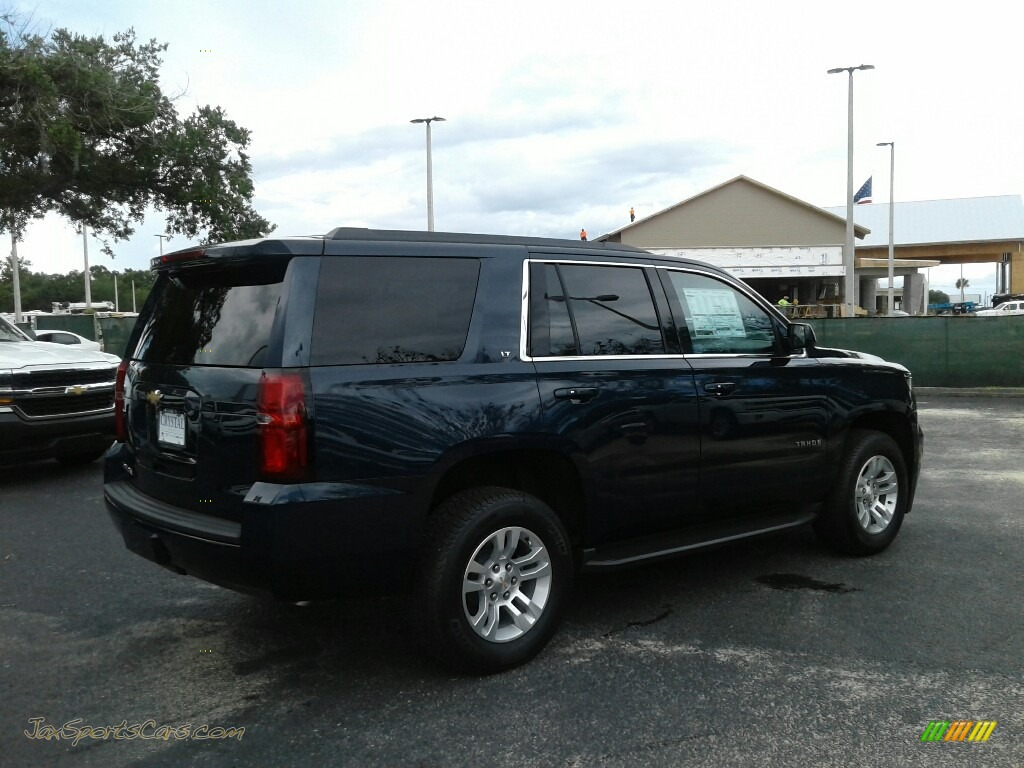 2018 Tahoe LT - Blue Velvet Metallic / Jet Black/Ash Gray photo #5