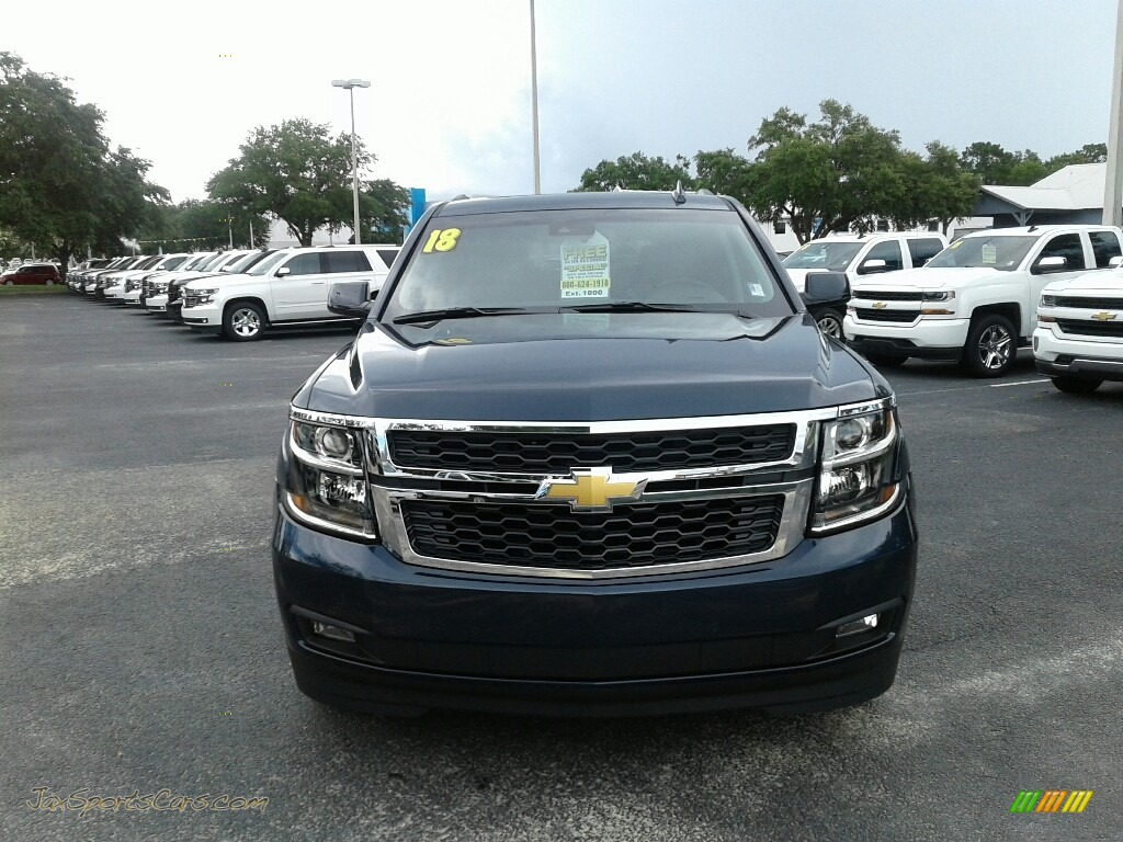 2018 Tahoe LT - Blue Velvet Metallic / Jet Black/Ash Gray photo #8