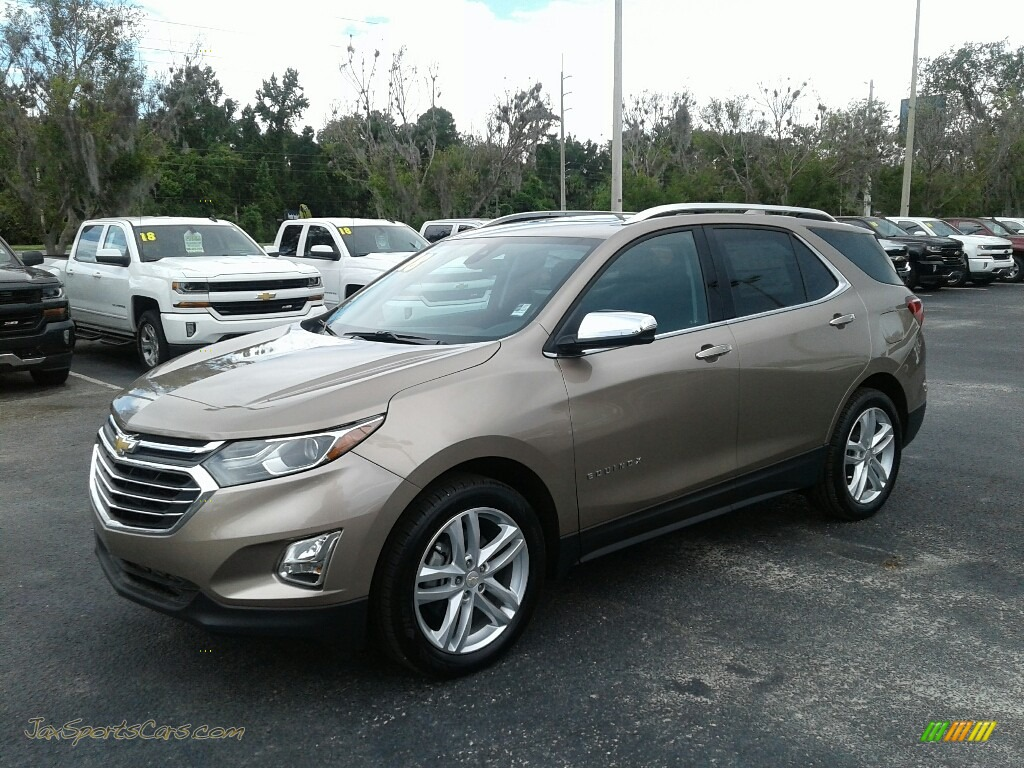 Sandy Ridge Metallic / Jet Black Chevrolet Equinox Premier
