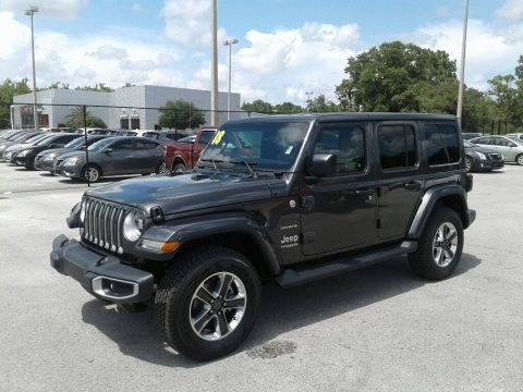 Granite Crystal Metallic 2018 Jeep Wrangler Unlimited Sahara 4x4
