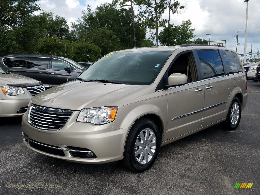 Cashmere/Sandstone Pearl / Dark Frost Beige/Medium Frost Beige Chrysler Town & Country Touring