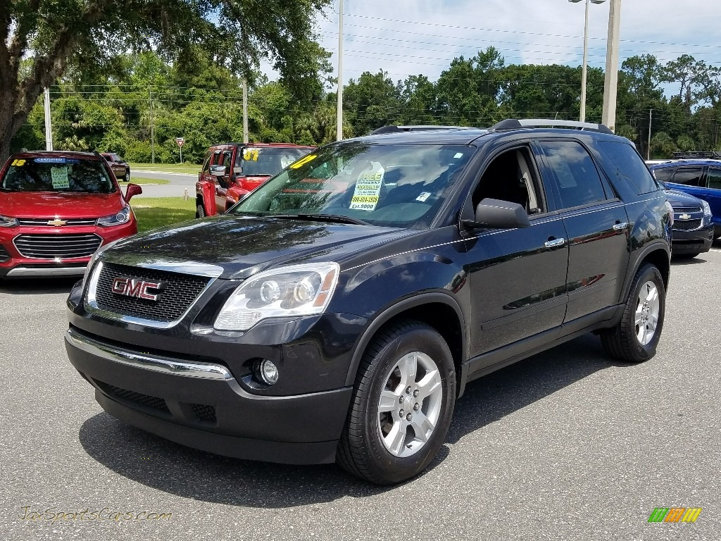 2012 Acadia SL - Carbon Black Metallic / Ebony photo #1