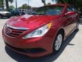 Hyundai Sonata GLS Venetian Red photo #7