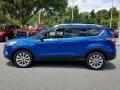 Ford Escape Titanium Lightning Blue photo #2