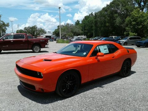 Go Mango 2018 Dodge Challenger SXT