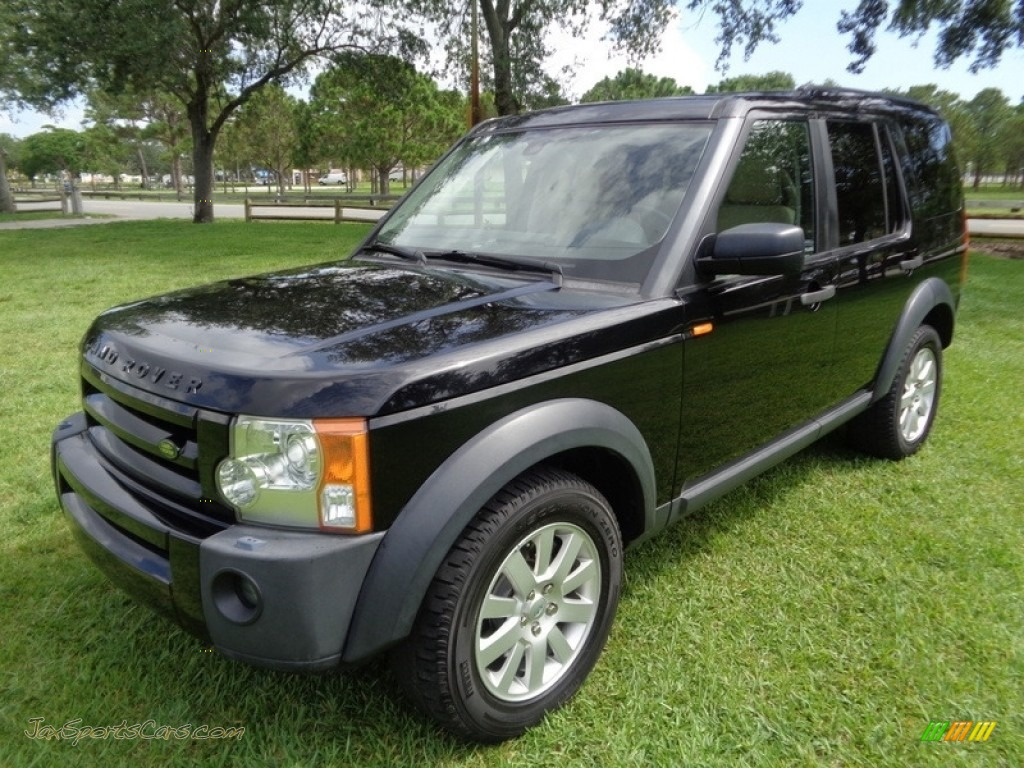 2006 LR3 V8 SE - Java Black Pearl / Alpaca Beige photo #1
