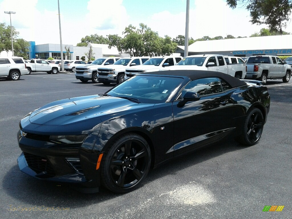 2018 Camaro SS Convertible - Black / Jet Black photo #1