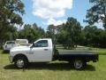 Ram 3500 Tradesman Regular Cab 4x4 Chassis Bright White photo #2