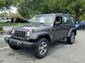 Jeep Wrangler Unlimited Sport 4x4 Granite Crystal Metallic photo #1