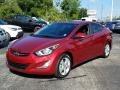 Hyundai Elantra Value Edition Red photo #1
