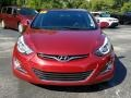 Hyundai Elantra Value Edition Red photo #8