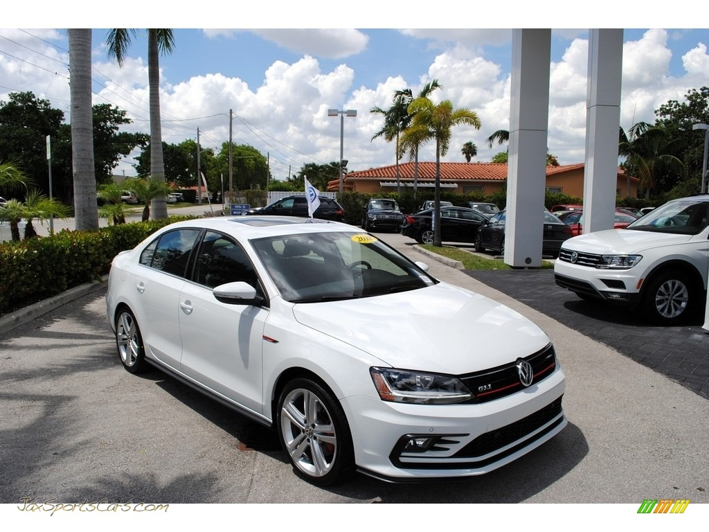 2018 Jetta GLI - Pure White / Titan Black photo #1
