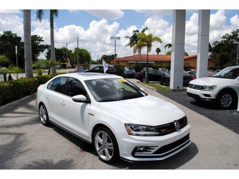 Pure White 2018 Volkswagen Jetta GLI